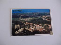 Postcard Postal Portugal Sintra Vista Panorâmica Desde O Castelo Dos Mouros - Lisboa