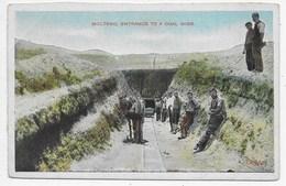 Molteno - Entrance To A Coal Mine. - South Africa