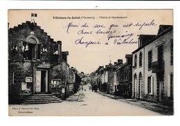 FRANCE / CPA / VILLAINES LA JUHEL / MAIRIE ET GENDARMERIE / - Villaines La Juhel