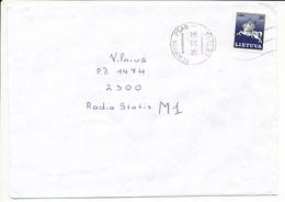 Mi 466 Solo Domestic Cover - 6 February 1995 Klaipėda PSAB - Lithuania