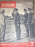 ROUMANIE IRINA BURNAIA AVIATRICE/LE CREUSOT BOMBARDEMENT/ THONON SAINT GINGOLPH DOUANIER - Newspapers