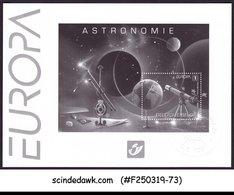 BELGIUM - 2009 EUROPA ASTRONOMY SG#MS4242 BLACK & WHITE SHEET MNH - Europa-CEPT