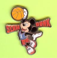 Pin's BD Disney Slam Dunk Mickey Basketball - 10DD23 - Disney