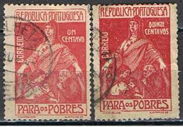 (PO 117) PORTUGAL // YVERT 226, 332 // 1915-1925 - 1910-... Republic