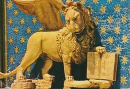 Venezia  Leone Di S. Marco -Particolare Della Torre Dell'Orologio  St. Mark's Lion Detail Of The Clock Tower - Sculptures
