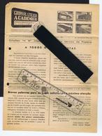 Very Rare Address/expediteur GRUPO FILATÉLICO ACADÉMICO Journal 1953 Portugal Publicitary Cover #8064 - Other