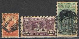 (PO 147) PORTUGAL // YVERT 555, 566, 567 // 1931-33 - 1910-... Republic