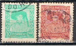 (PO 151) PORTUGAL // YVERT  579, 580 // 1935-36 - 1910-... Republic