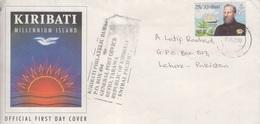 Kiribati Cover, Stamps UAE   (A-3316) - Kiribati (1979-...)