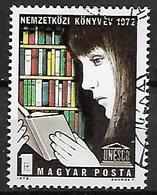 UNGHERIA 1972  ANNO INTERNAZIONALE DEL LIBRO YVERT. 2232 USATO VF - Used Stamps