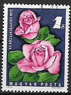 UNGHERIA 1972   FIORI YVERT. 2233 USATO VF - Used Stamps