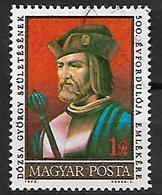 UNGHERIA 1972  GYORGY DOZSA YVERT. 2234 USATO VF - Used Stamps