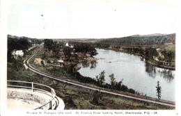 Sherbrooke Québec - Rivière Saint-François - St. Francis River - Unwritten - 2 Scans - Sherbrooke