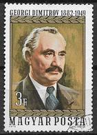 UNGHERIA 1972  GEORGI DIMITROV YVERT. 2235 USATO VF - Used Stamps