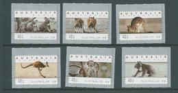 Australia 1999 Koala & Kangaroo Monotel Labels Set Of 6 MNH - Mint Stamps