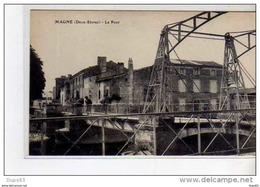 MAGNE - Le Pont - Très Bon état - Francia