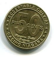 Casino Niagara Canada 50c Slot Token - Casino