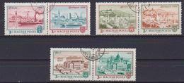 UNGHERIA 1972 UNIFICAZIONE DI PEST,BUDA,OBUDA IN BUDAPEST YVERT. 2265-2270 USATA VF - Used Stamps
