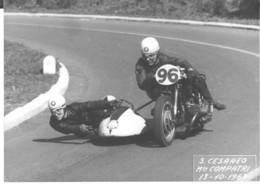 Roma-s.cesareo  Monte Compatri- Montecompatri-zagarolo-gara Motociclsta Con Sidecar-1963-vera Foto -18x13 - Sport