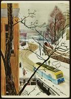 """Drammensveien Med Den Kjente Sommerrestaurant Kogen"""" I Det Fjerne  -  Ansichtskarte Ca.1970   (10811) - Norway"""