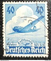 GERMANY. DEUTSCHES 3eme REICH..double Estampillage. 1936. SG600. - Used Stamps