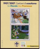 ITALIEN BLOCK 39 ** EUROPA 2007 - PFADFINDER - 2007