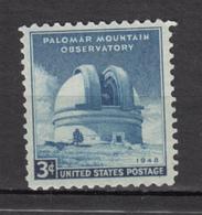 USA, MNH, Astronomie, Astronomy, Télescope, Physique, Physic, Observatoire, Observatory - Astronomy
