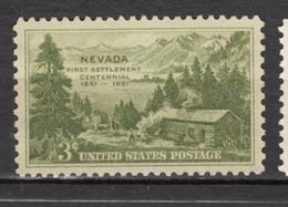 USA, MNH, Montagne, Mountain, Défrichage, Bois, Wood, Forest, Forêt, Feu, Fire, Nevada - Geology