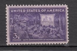 USA, MNH, Cinéma, Movie, Motion Pictures - Cinema