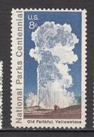 USA, MNH, Geyser, Géologie, Geology, Old Faithful, Yellowstone, Parc National Park - Geology