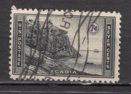 USA, Géologie, Geology, Acadia, Bateau, Boat - Geology