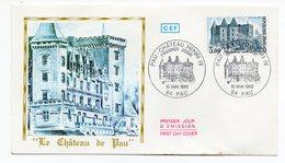 FDC France 1982 - Pau Château Henri IV - YT 2195 - 64 Pau - FDC