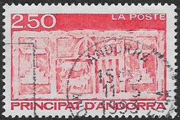 Andorra (French POs) SG F448 1991 Definitive 2f.50 Good/fine Used [39/32295/7D] - Andorra Francesa
