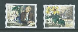 Sweden 2001 Australia Joint Issue Solander & Endeavour Voyage Set 2 MNH - Sweden