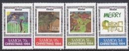 SAMOA, 1994 XMAS 4 MNH - Samoa