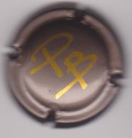 Capsule Champagne POISSENOT_BERTHELOT ( 10 ; Marron PB Or ) {S23-19} - Champagne