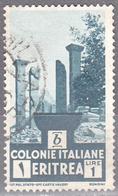 ERITREA     SCOTT NO . 164      USED     YEAR  1934 - Eritrea