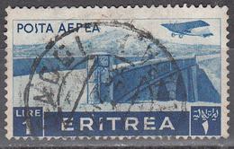 ERITREA     SCOTT NO . C11      USED     YEAR  1936 - Eritrea