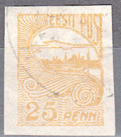 ESTONIA    SCOTT NO . 40     USED     YEAR  1920 - Estonia