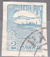 ESTONIA    SCOTT NO . 44     USED     YEAR  1920 - Estonia