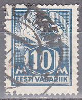 ESTONIA    SCOTT NO . 72     USED     YEAR  1922 - Estonia