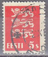 ESTONIA    SCOTT NO . 93     USED     YEAR  1928 - Estonia