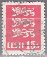 ESTONIA    SCOTT NO . 98     USED     YEAR  1928 - Estonia