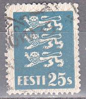 ESTONIA    SCOTT NO . 101     USED     YEAR  1928 - Estonia