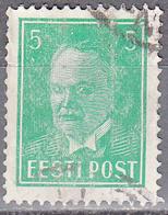 ESTONIA    SCOTT NO . 121    USED     YEAR  1936 - Estonia