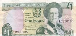 Jersey - Billet De 1 Pound - Elizabeth II - Non Daté - [ 4] Isla Man / Isla Channel