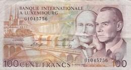 Luxembourg - Billet De 100 Francs - 8 Mars 1981 - Grand-Duc Jean & Prince Henri - Luxembourg