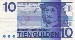 Pays-Bas - Billet De 10 Gulden - Frans Hals - 25 Avril 1968 - [2] 1815-… : Koninkrijk Der Verenigde Nederlanden