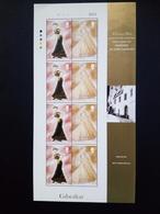 GIBRALTAR MI-NR. 803-806 POSTFRISCH KLEINBOGENSATZ MODE 1997 - Gibraltar