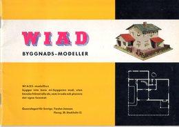 Catalogue WIAD 1959 BYGGNADS-MODELLER Swedish Edition - En Suédois - Livres Et Magazines